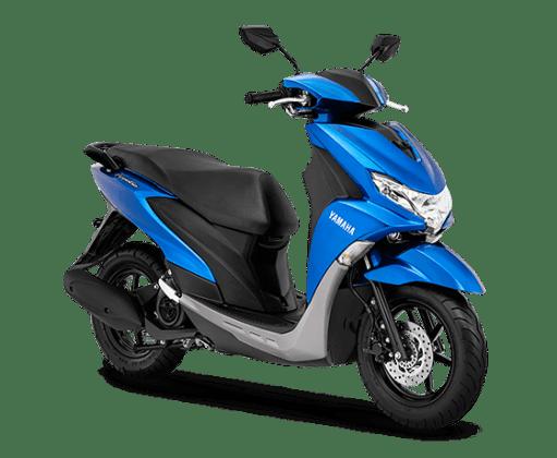 Yamaha FreeGo Biru