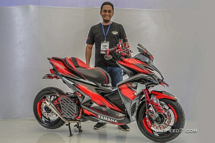 Modifikasi Yamaha Aerox 155