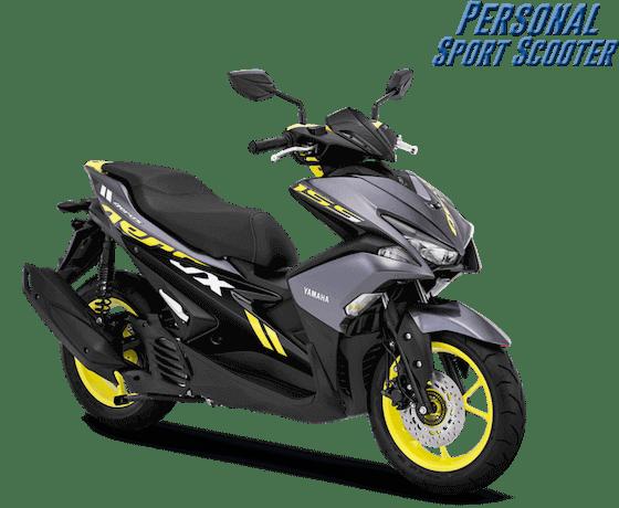 Yamaha Aerox 2019 Hijau