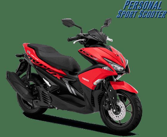 Yamaha Aerox 2019 Merah