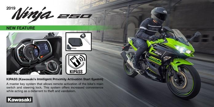 Kawasaki Ninja 250 Keyless