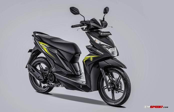 Honda BeAT 2019 CBS Warna Hitam