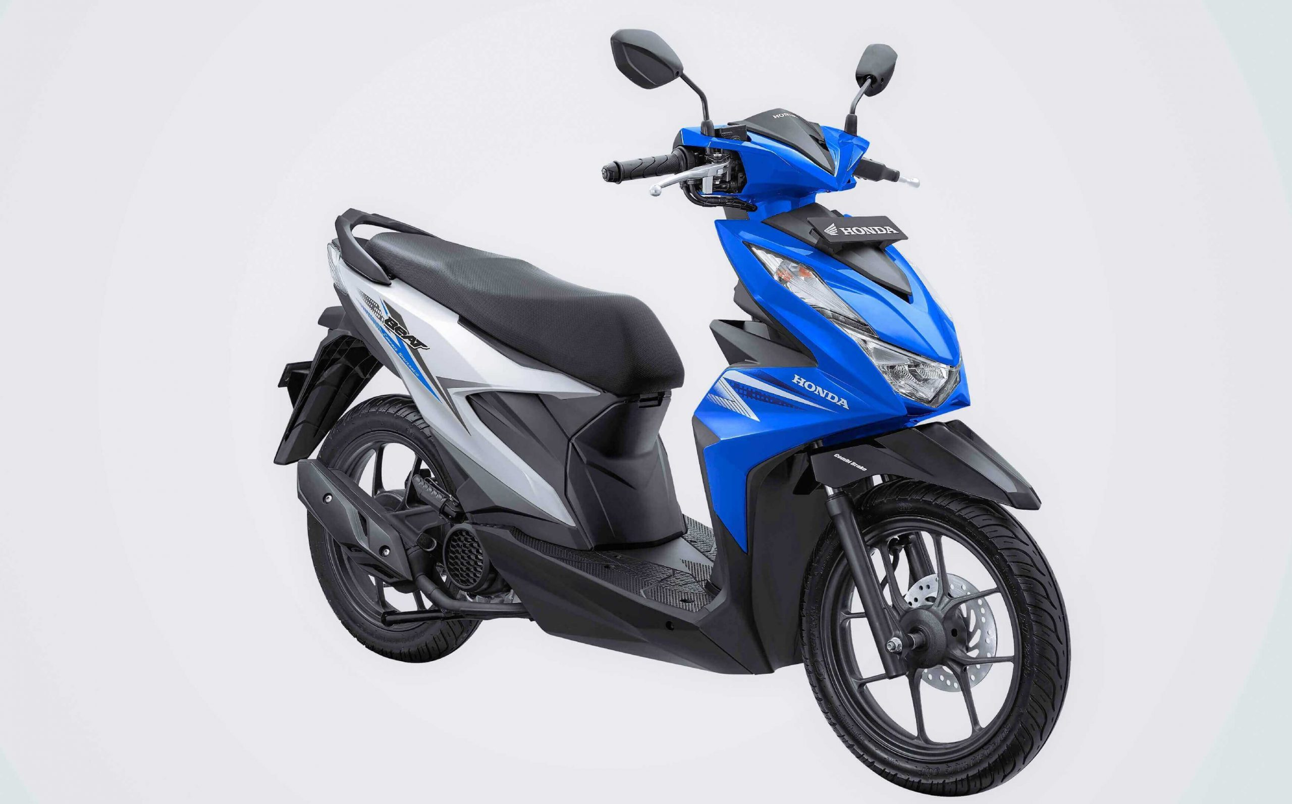 All New Honda BeAT 2020 Biru Putih