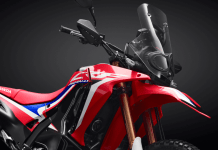 Honda CRF250 Rally 2019 Extreme Red