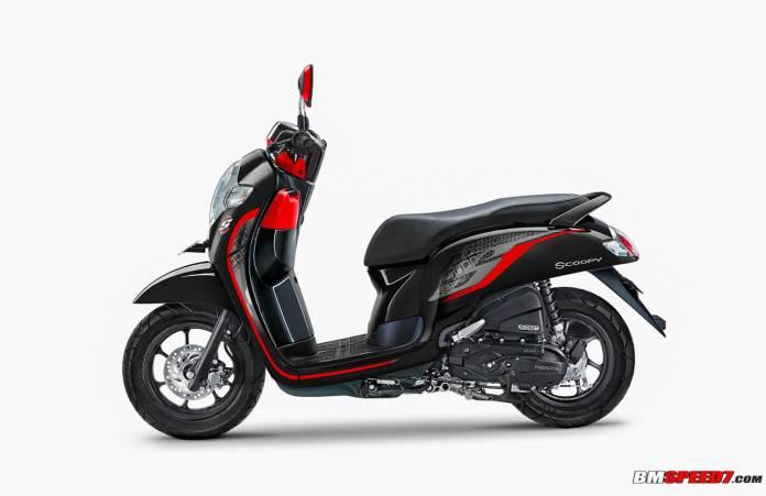 Honda Scoopy Sporty 2020 Hitam