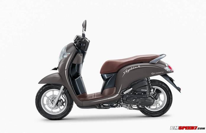 Honda Scoopy Stylish 2020 Coklat Doff