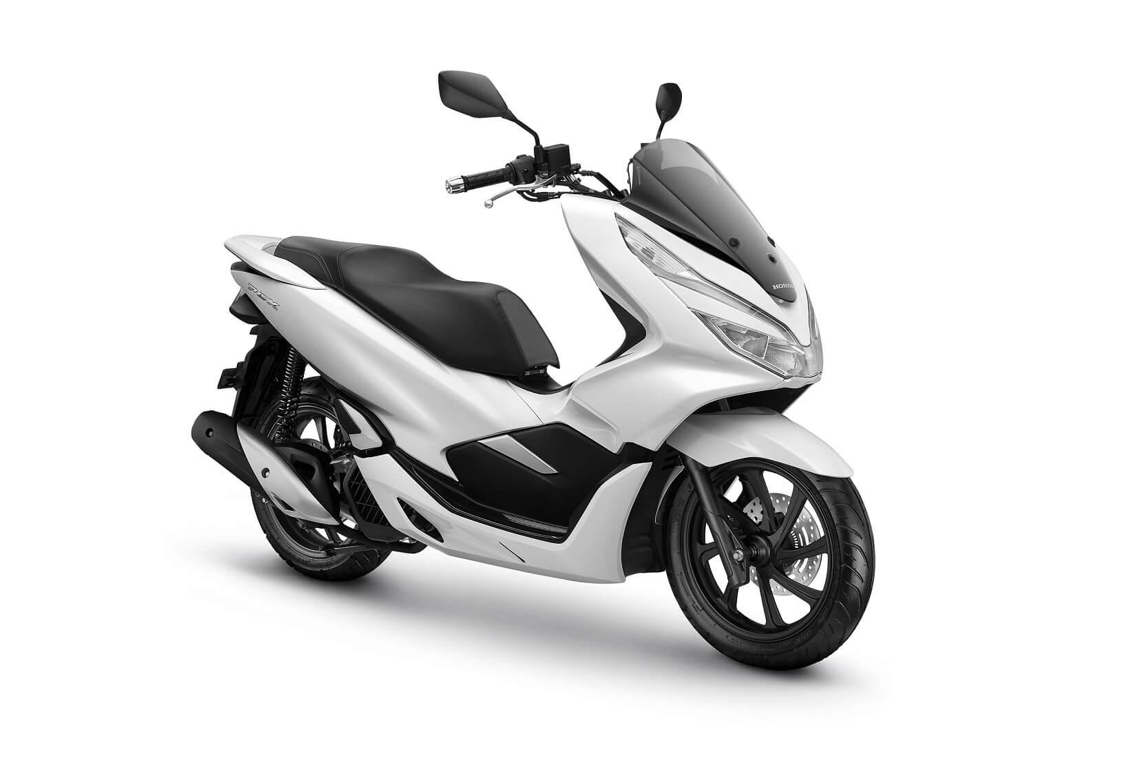 4 Warna Honda Pcx 2019 Terbaru Cbs Dan Abs Matte Silver Bagus