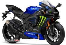 Yamaha R1 Monster Energy