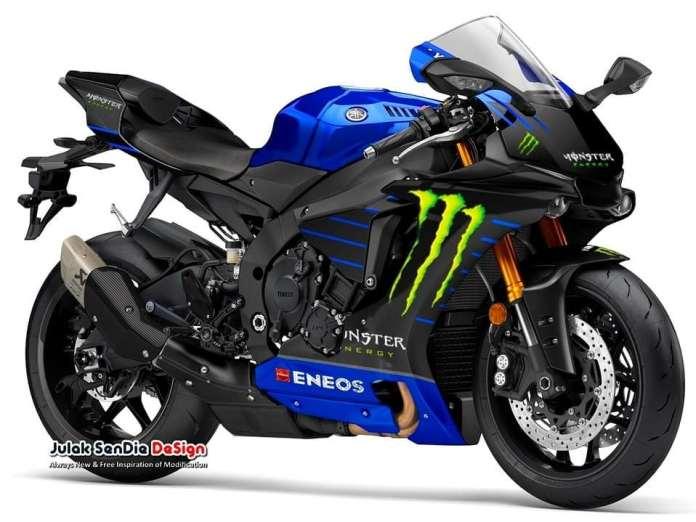 Yamaha R1 Monster Energy