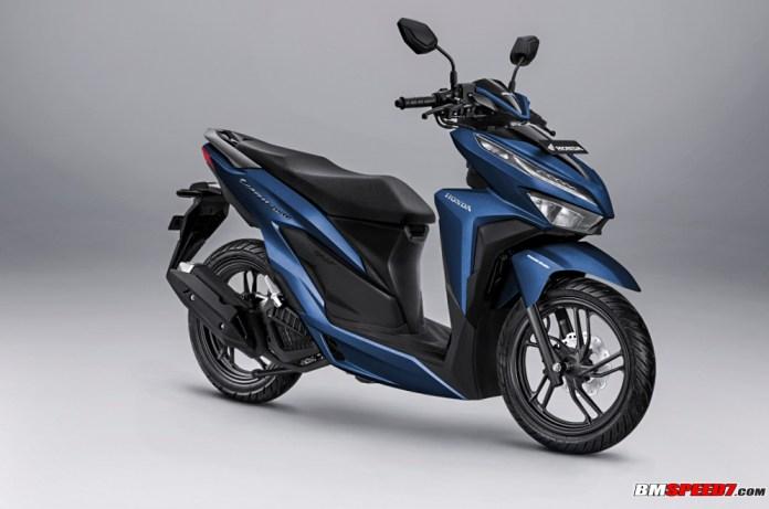 Honda Vario 150 2019 Biru Doff