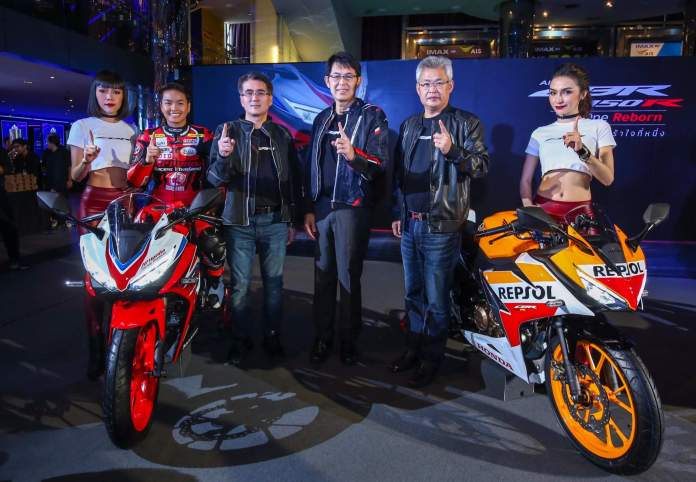 All New Honda CBR150R 2019 AP Thailand