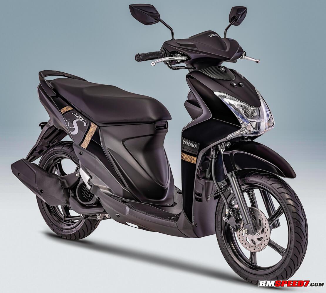 Yamaha Mio S 2019 Hitam