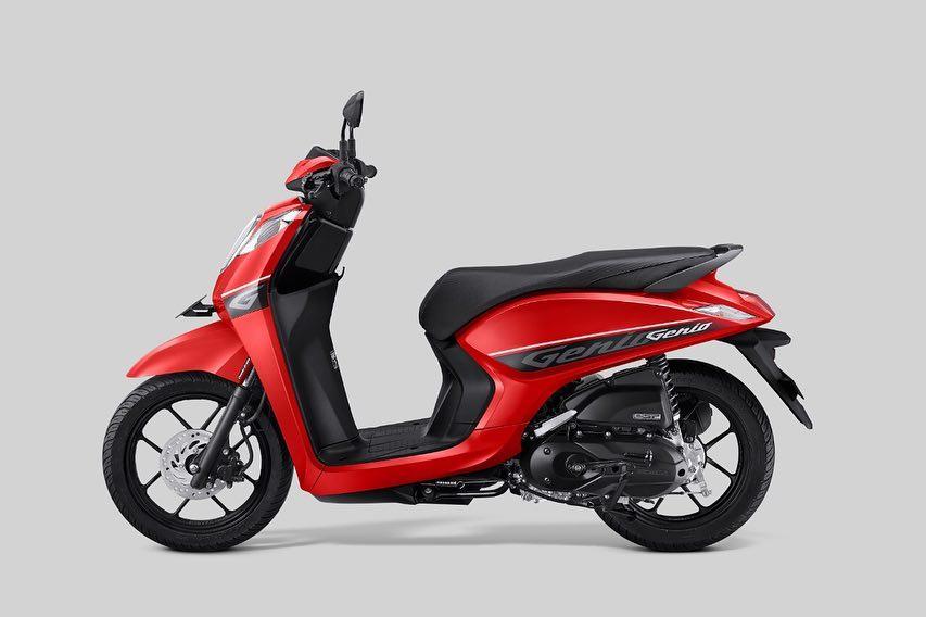 Honda Genio 2019 CBS Merah