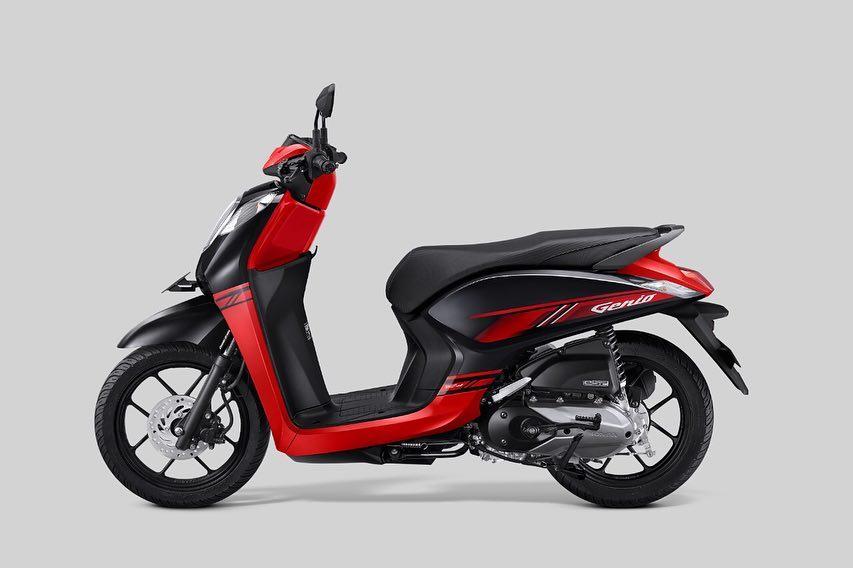 Honda Genio 2019 CBS-ISS Hitam Merah