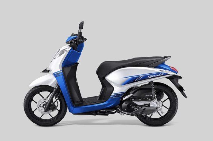 Honda Genio Biru Putih