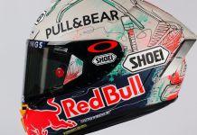 Shoei X-Spirit II Marc Marquez MotoGP Catalunya 2019