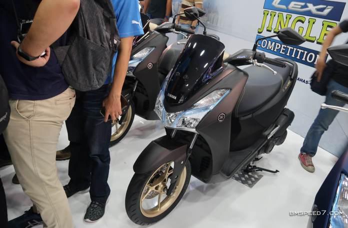Yamaha Lexi S Matte Gray