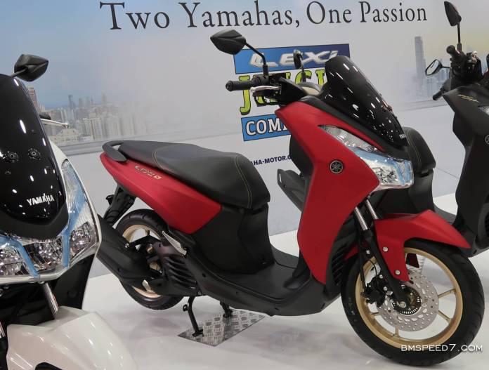 Yamaha Lexi S Matte Red