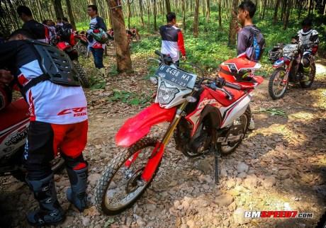 Honda CRF150L Trabas