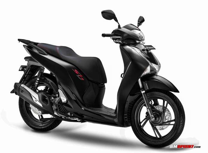 Honda SH150i 2019 Matte Black