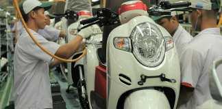Honda Scoopy Merah Putih