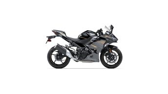 Kawasaki Ninja 400 2020 Metallic Spark Black – Metallic Matte Graphite Gray