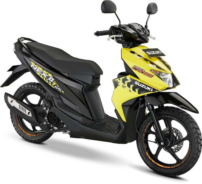 Suzuki Nex II Accessories Version Kuning