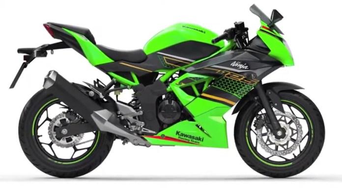 Kawasaki Ninja 125 Green KRT