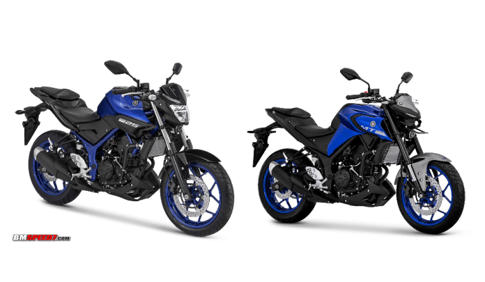 Perbedaan Yamaha MT-25 Lama dan Baru 2020