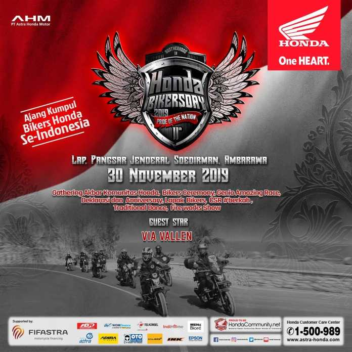 registrasi honda bikers day 2019