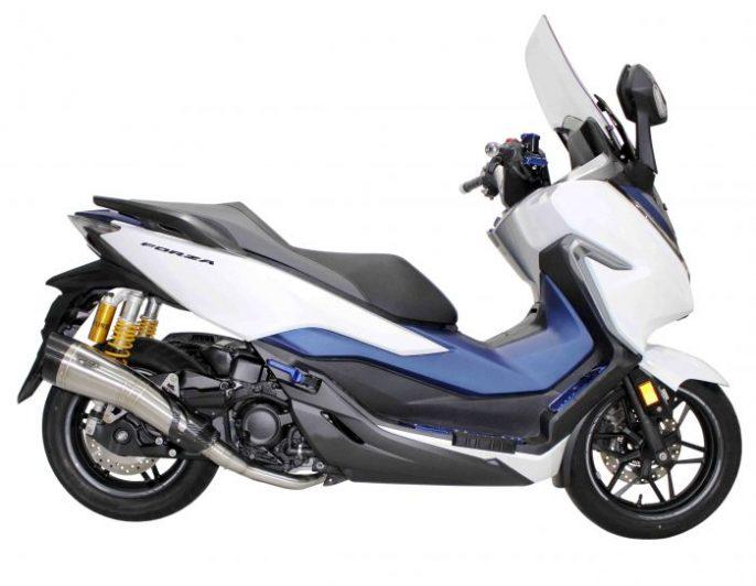 Knalpot R9 H2-SS Honda Forza