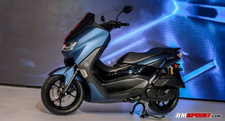 Yamaha All New Nmax 155 ABS Matte Blue