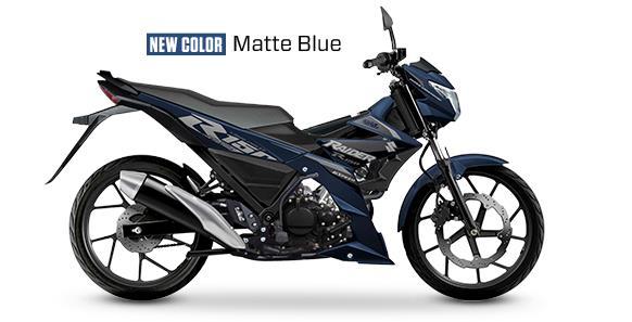 Suzuki Raider 150 FI Matte Blue