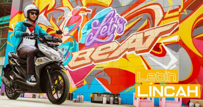 Honda BeAT Street Terbaru 2020 Silver