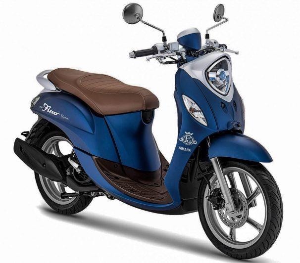 Yamaha Fino Grande Biru