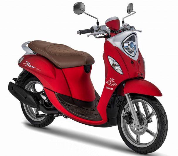 Yamaha Fino Grande Merah