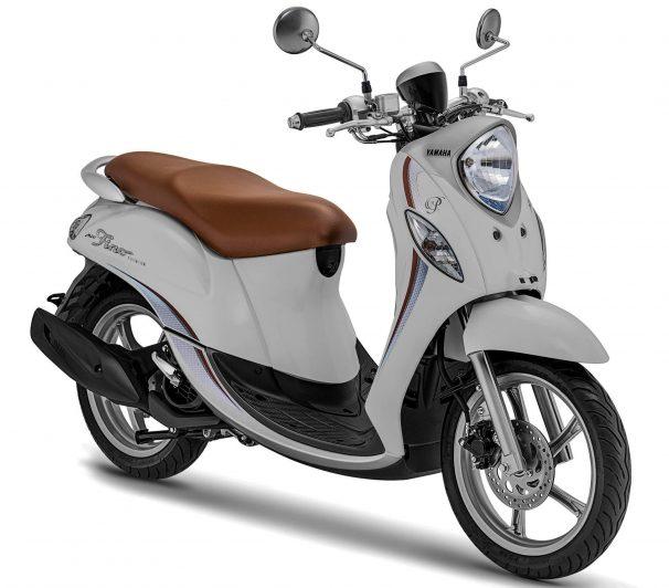 Yamaha Fino 2020 Coklat Putih