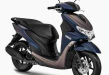 Warna Baru Yamaha FreeGo 2020 Matte Blue Grey