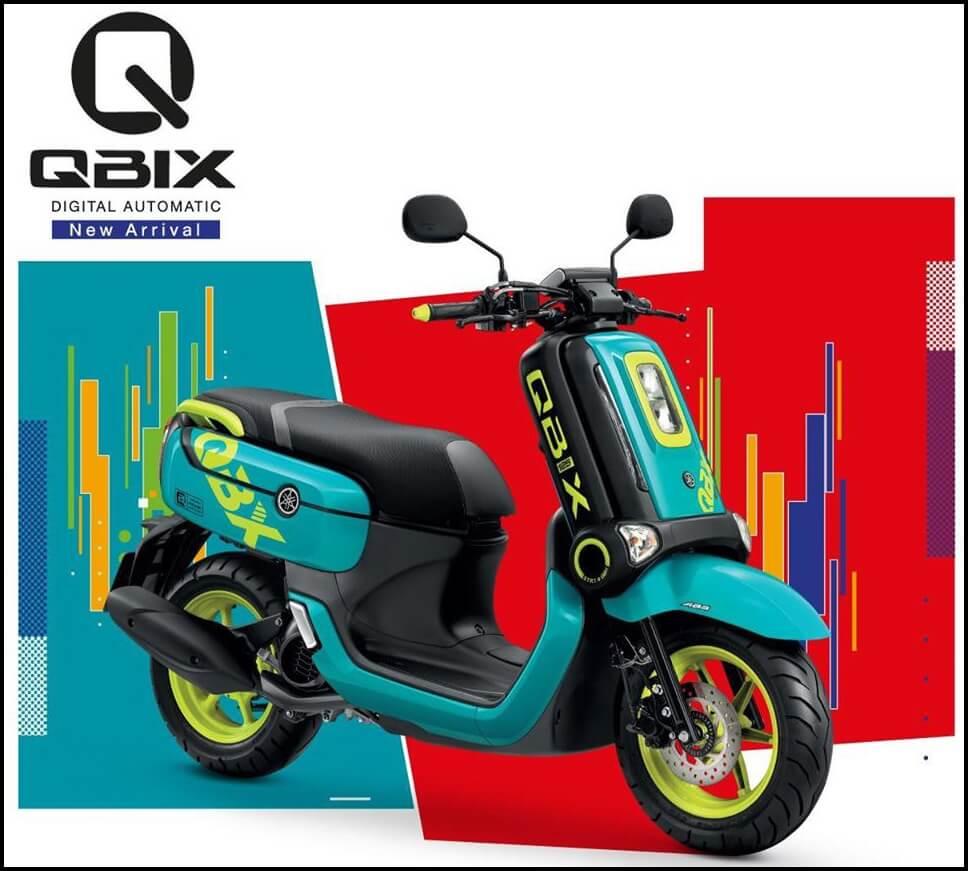 Yamaha QBIX 2020 ABS Version Green Yellow
