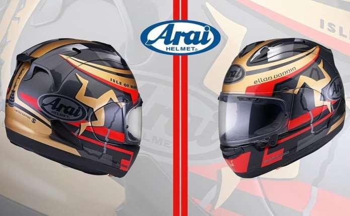 Arai RX7X IOM TT 2020