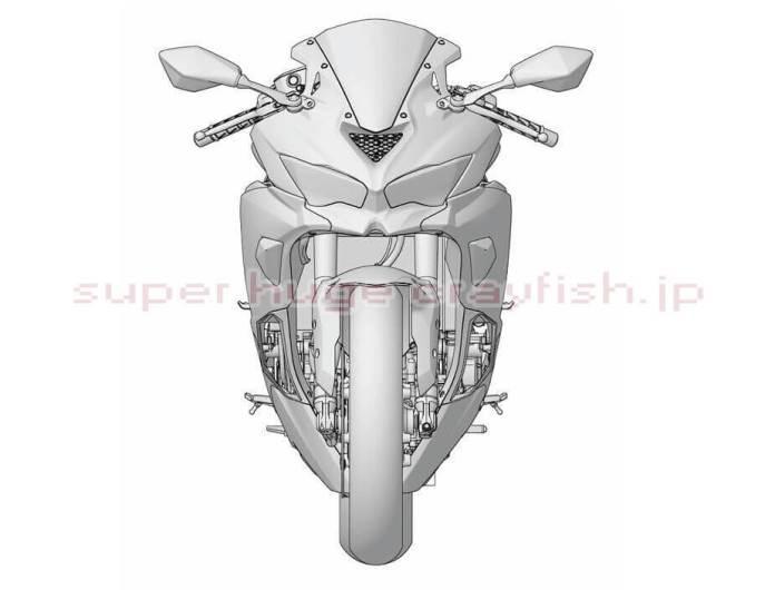 ZX-25R Patent Design