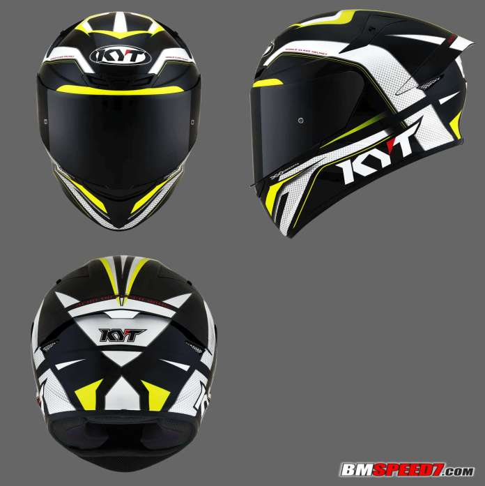 KYT TT Course Grand Prix Black Yellow