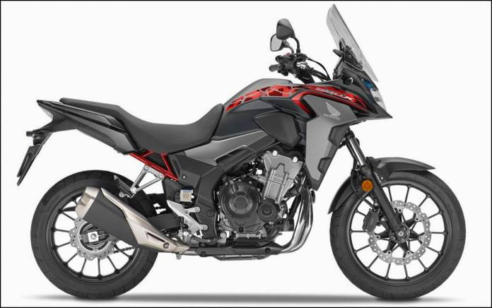 2021 Honda CB500X Matt Gunpowder Black Metallic