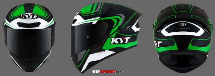 KYT TT Course Black Green