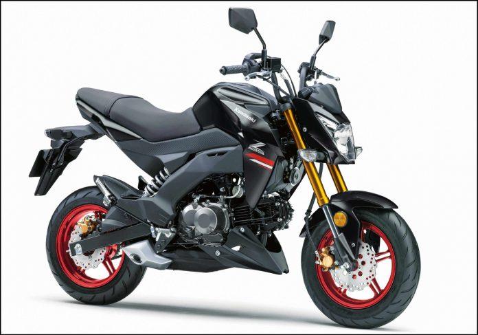 Kawasaki Z125 Pro 2021 Black