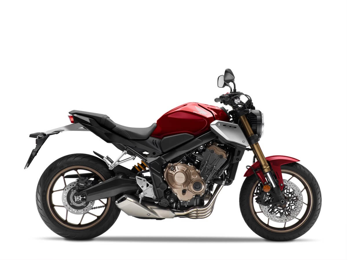 Honda CB650R 2021 Candy Red