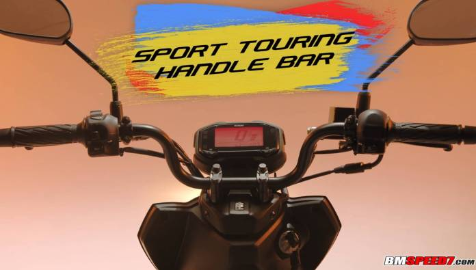 Sport Touring Handle Bar Suzuki Skydrive Crossover