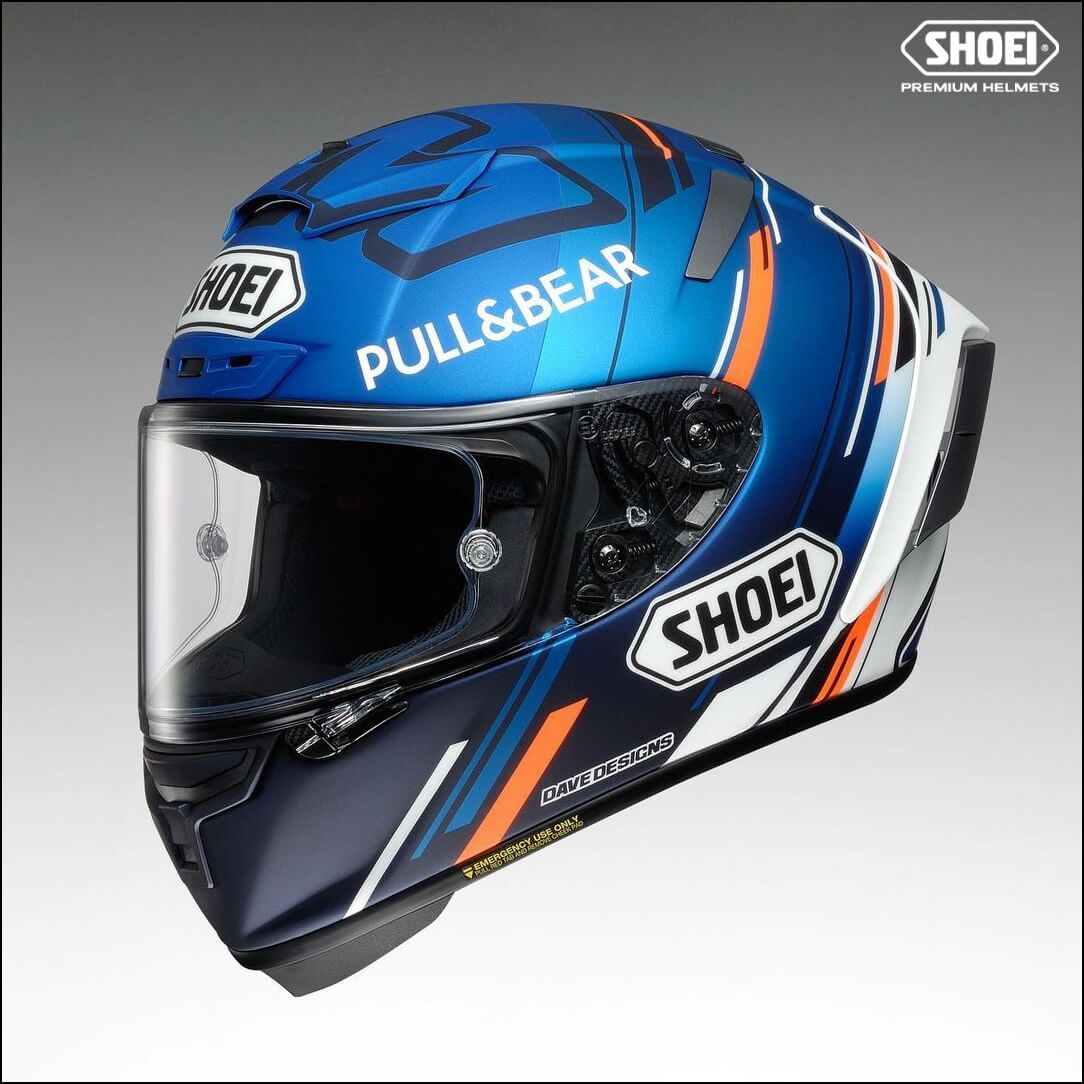 SHOEI X-Spirit III AM73 TC2