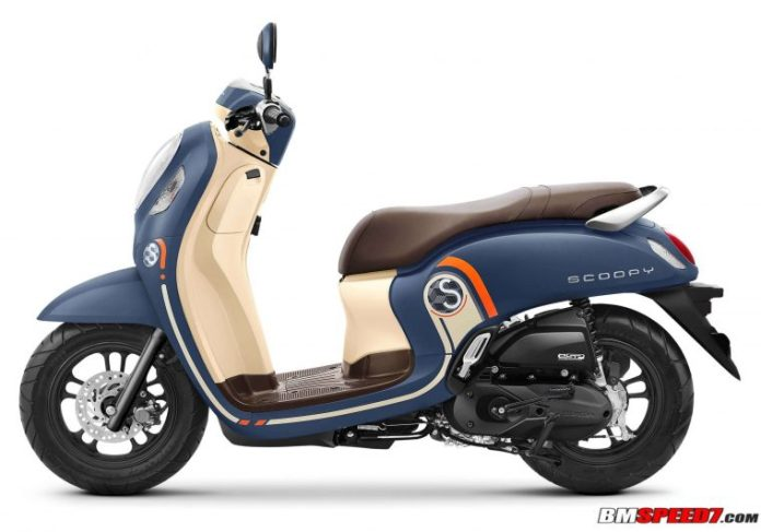 Warna Scoopy 2021 Biru
