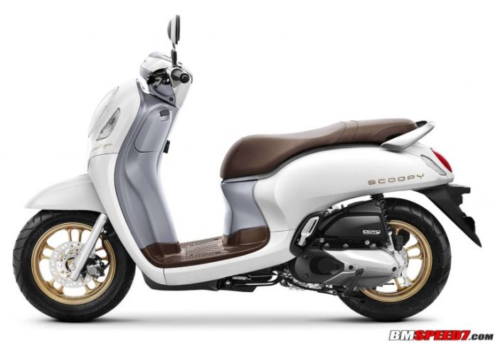 Warna Scoopy 2021 Putih